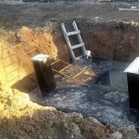 Ёмкость под канализацию 10 куб.м