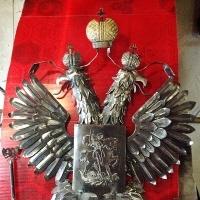 Герб кованый
