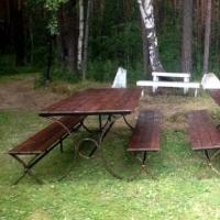 Обеденная зона для отдыха на природе
